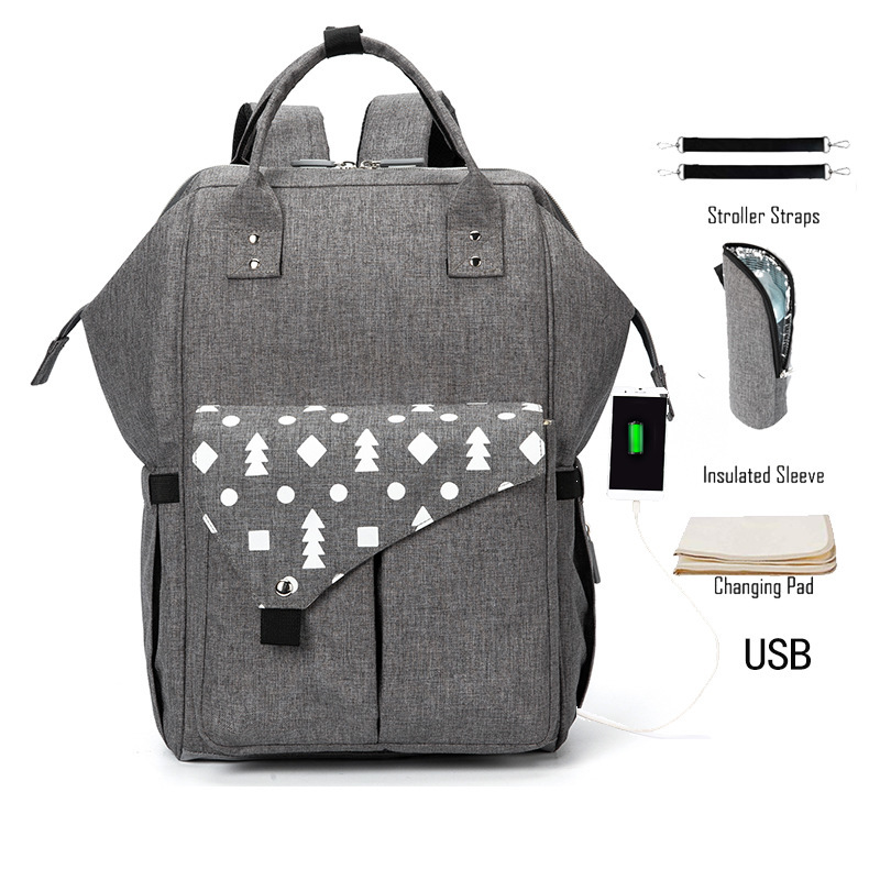 More Function Mommy Package Will Capacity backpacks woman 2019 new Printing Both Shoulders Baby Package bao backpack geometric More Function Mommy Package Will Capacity backpacks woman 2019 new Printing Both Shoulders Baby Package bao backpack geometric