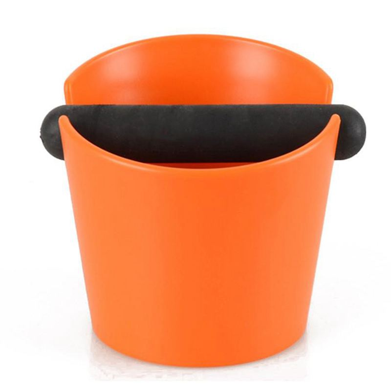 Abs Coffee Knock Box Espresso Grounds Container Residue For Barista With Handle Coffee Residue Bucket Grind Waste Bin
