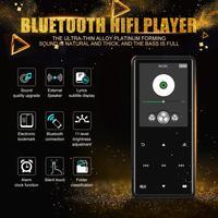 Bluetooth MP4 MP3 Player Portable Media Music Player 2.4 Inch Touch Keys Radio FM Radio HIFI Video 8GB 16GB