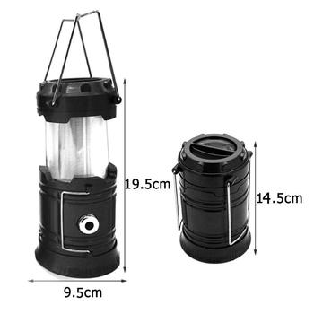 Outdoor Hiking 3 Modes LED Lantern Flashlights Collapsible Tent Light Emergencies Camping Lamp Hiking Travel Outdoor Tools