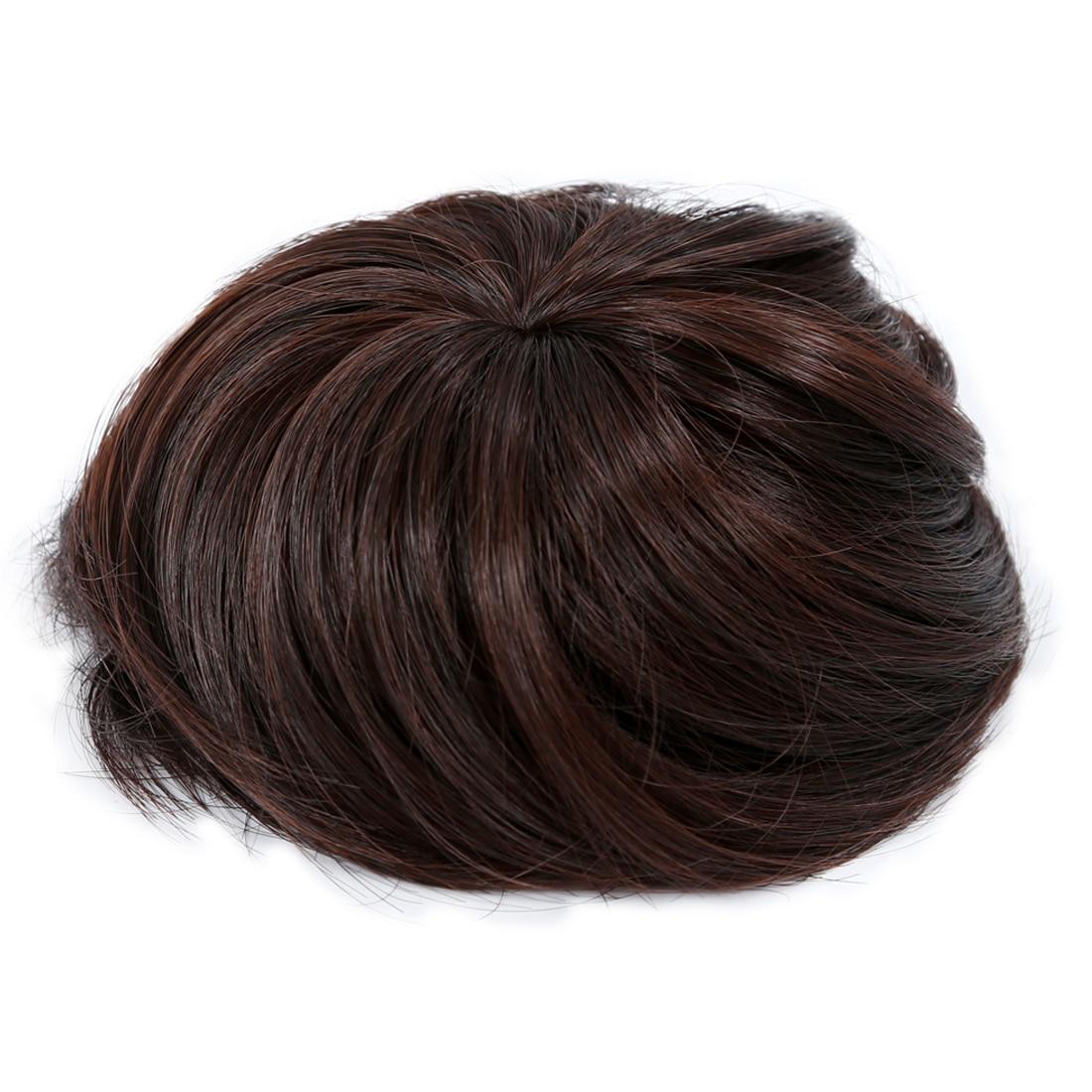 Woman Hairpiece Hair Bun Wig Topknot Wigs