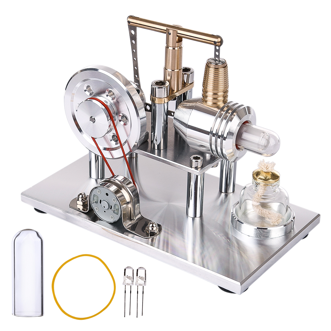2019 New Balance Stirling Copper Cylinder Generator with Alcohol Lamp Education Kit DIY Steam STEM Toy Model Building Kits2019 New Balance Stirling Copper Cylinder Generator with Alcohol Lamp Education Kit DIY Steam STEM Toy Model Building Kits