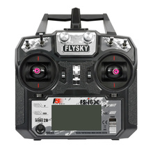 الأصلي Flysky FS i6X 10CH 2.4 جيجا هرتز AFHDS 2A RC الارسال لا استقبال ل RC الطائرة بدون طيار طائرة هليكوبتر تحكم عن بعد