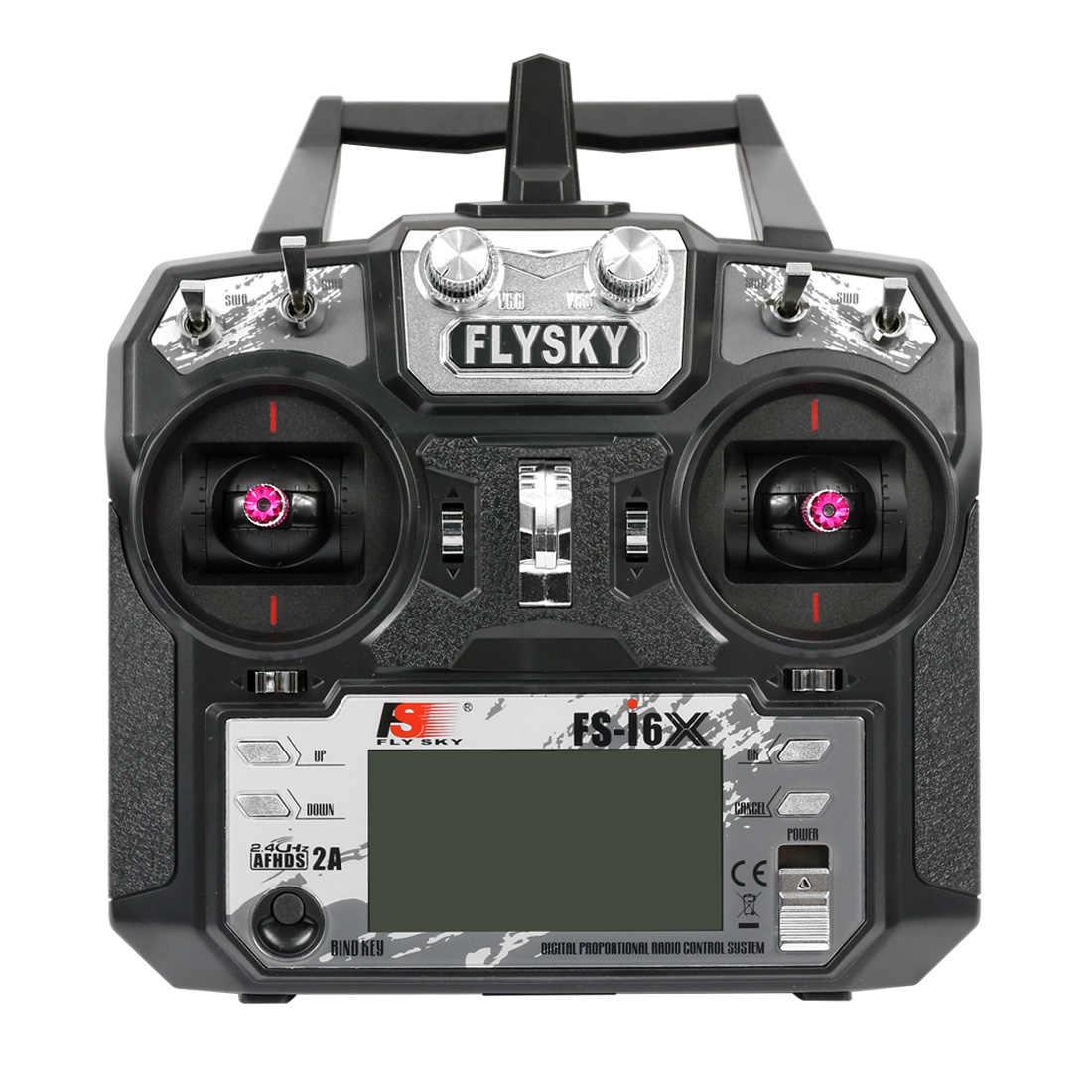 الأصلي Flysky FS-i6X 10CH 2.4 جيجا هرتز AFHDS 2A RC الارسال لا استقبال ل RC الطائرة بدون طيار طائرة هليكوبتر تحكم عن بعد