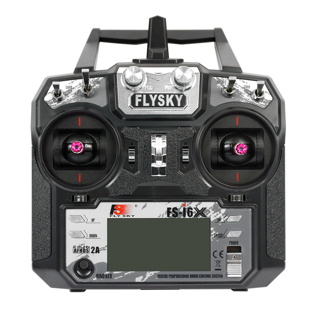 Transmissor sem Receptor para rc Avião de Controle Original Afhds Flysky rc Drone Helicóptero Remoto 2a Fs-i6x 10ch 2.4ghz