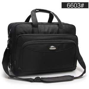Image 2 - Large Capacity Business Men 17 Inches Briefcases Black Bags Mens Waterproof Computer Laptop Briefcase Male Travel Shoulder Bag