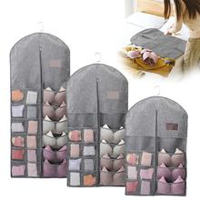 Multi-functional Dust Cover Storage Bag Multi-pocket Home Moisture Proof Clothes Hanging Coat Dry And Breathable