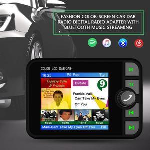 Image 5 - השתפר אופנה צבע מסך רכב DAB רדיו דיגיטלי רדיו מתאם עם Bluetooth הזרמת מוסיקה
