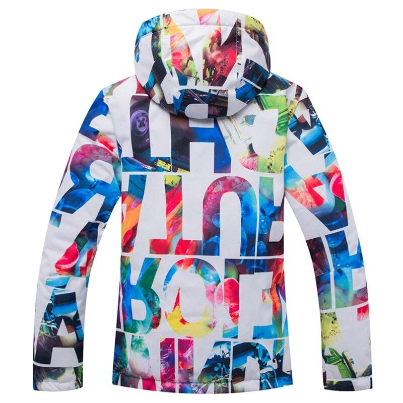 Arctique QUEEN Ski vestes femmes snowboard veste femme hiver vêtements de sport neige Ski veste respirante imperméable coupe-vent - 2