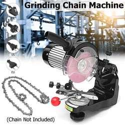 Afilador eléctrico de cadena de sierra de ruedas de molienda grandes 230 W 3600 RPM para afilador de motosierra de Banco AU/UK /enchufe UE/EE. UU.