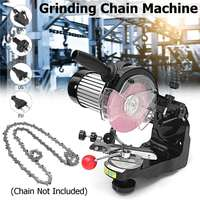 Large grinding wheels Saw Chain Grinder Electric Chainsaw Sharpener 230W 3600RPM for Bench Chainsaw Sharpener AU/UK/EU/US plug