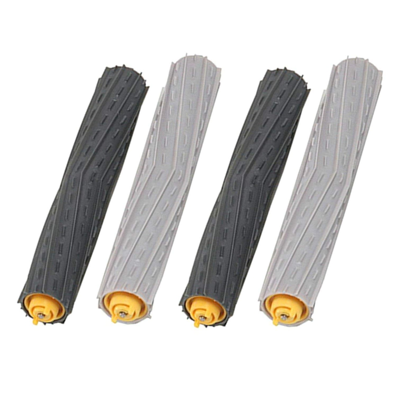 2 Pairs Debris Extractor Brushes Accessories Kit for iRobot Roomba 800 900 870 880 960 980