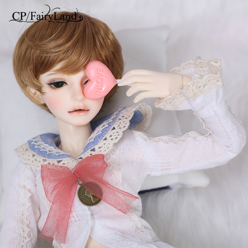 Free Shipping Fairyland Minifee Mika BJD Doll 1/4 model  girls boys eyes High Quality toys  shop resin