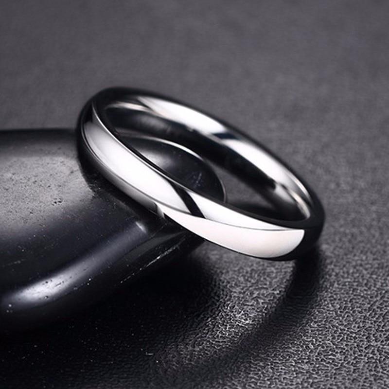 Free Black Velvet Gift Pouch Men/'s Silver Stainless Steel Mesh Flexible Ring