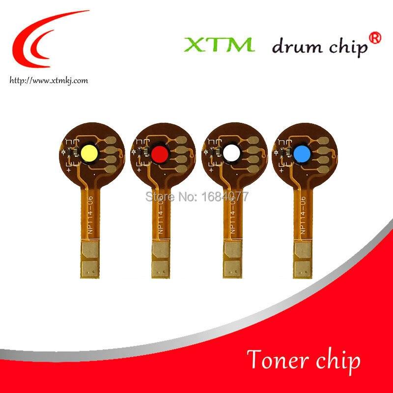 Toner chip C EXV034 400 k 200 c 200 m 200 y for Canon ImageRUNNER CC1225iF