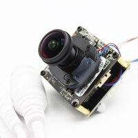 HD POE DIY IP Camera module Board with IRCUT Fisheye 1.7mm LENS Hi3518E 1080P IPC Indoor Camera Mobile APP XMEYE ONVIF