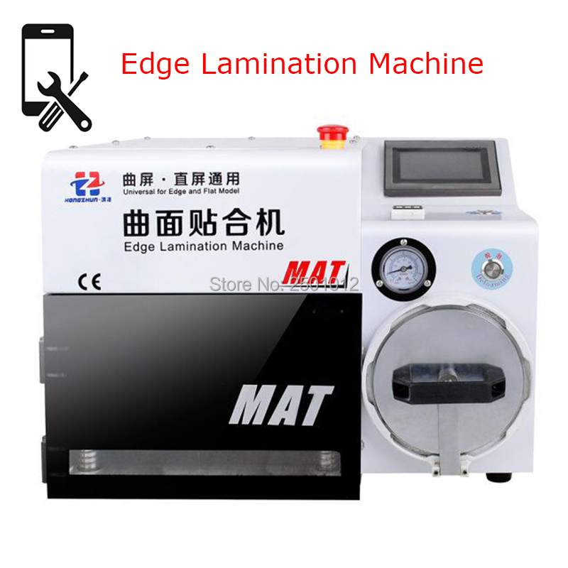 Hongzhun MAT Edge Lamination and Debubble Machine Universal for iPhone and Flat Screens with All Molds machine