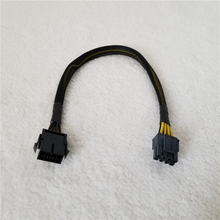 8Pin Man vrouw Adapter Verlengkabel Voor Atx Power Cpu Oplader Supply Met Netto Cover 18AWG 30Cm