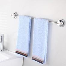 Stainless steel  towel rack TPE glue+Vacuum cup Double reinforcement Suction Bathroom Kitchen Towel shelf Towel holder 40cm pole стоимость