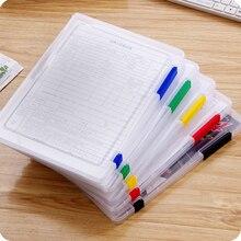 JX-LCLYL, новинка, А4, пластиковый чехол для документов, коробка для хранения, органайзер, для офиса, школы
