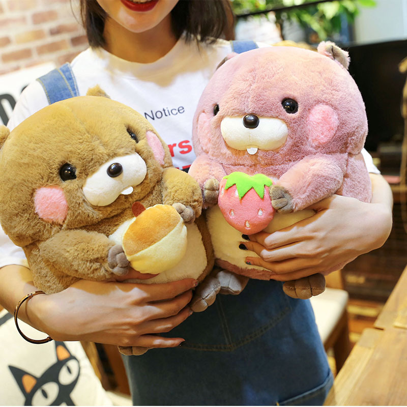 Hamster Doll Toys Soft Plush-Toy Groundhog-Doll Christmas-Gifts Stuffed Baby Kids Children