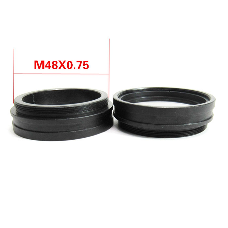 1PC 1X Barlow AUX Auxiliary Attachment Objective Lens For Stereo Microscope M48*0.75 Accessories Mounting Thread 48 Mm