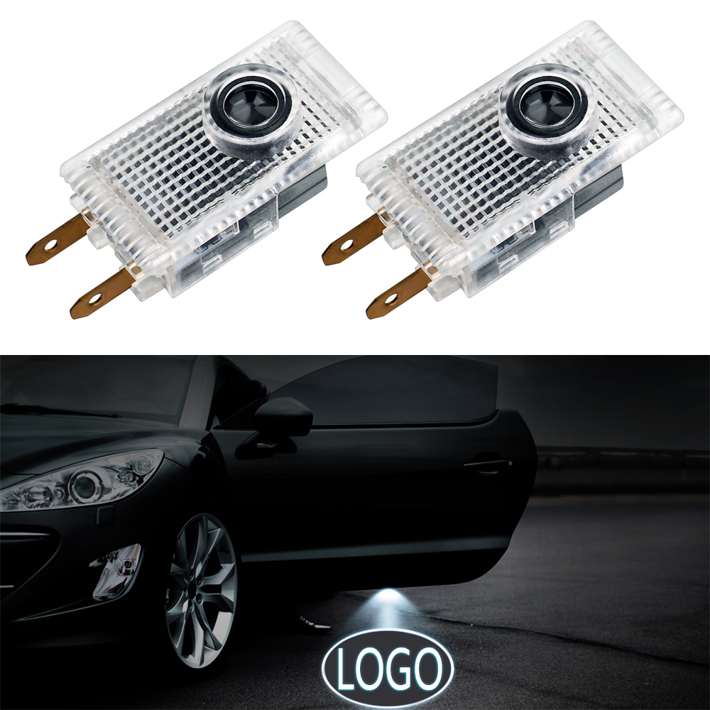 2Pcs Led Car Door Light For Mercedes W210 For Opel Insignia BUICK LACROSSE 2009 Car Styling LED Ghost Shadow Light Auto Lamp