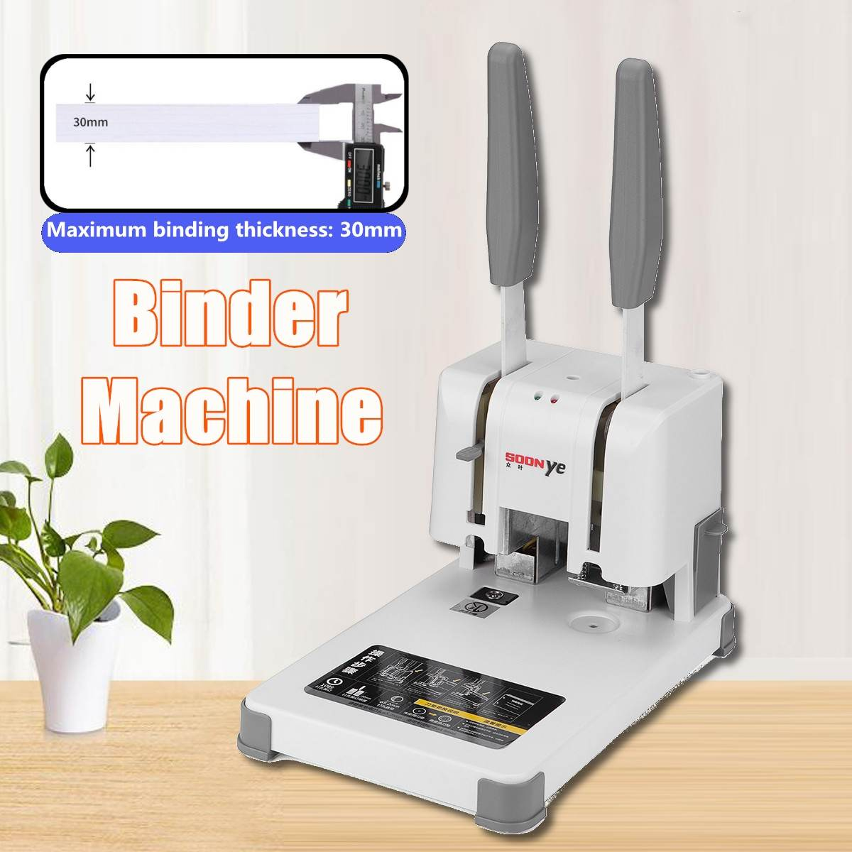 Hot Glue Book Binding Machine 220V Manual Hot Melt Glue Book Binder Clips Office School Electrical Device Binding Tools PartsHot Glue Book Binding Machine 220V Manual Hot Melt Glue Book Binder Clips Office School Electrical Device Binding Tools Parts