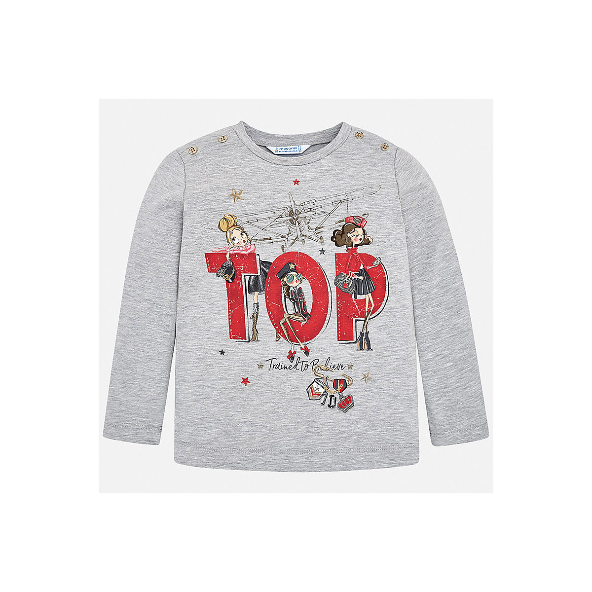 MAYORAL Blouses & Shirts 8848669 Girls Cotton  clothes baby boy children child wear blouses