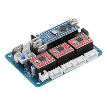 1pc 2417 CNC Router 3Axis Control Board GRBL USB Stepper Motor Driver DIY Laser Engraver Milling Engraving Machine Controller(China)