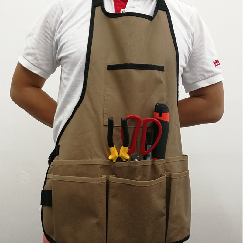 Bib Apron Pocket Tool Woodworking Gardening Craft Mechanic Wood ShopBib Apron Pocket Tool Woodworking Gardening Craft Mechanic Wood Shop