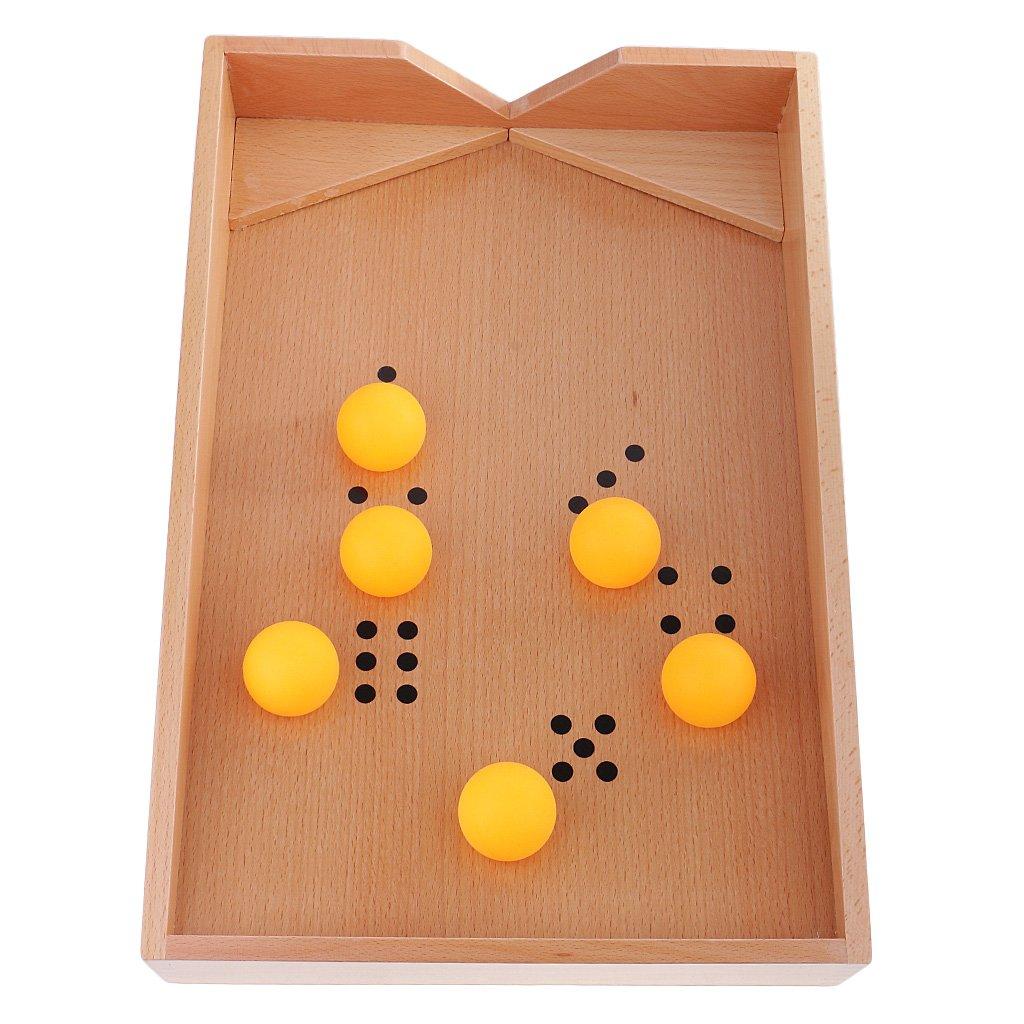 Boîte de soufflage en bois Montessori apprentissage précoce développement sensoriel jouets éducatifs jeu cadeau d'anniversaire pour enfants en bas âge enfants