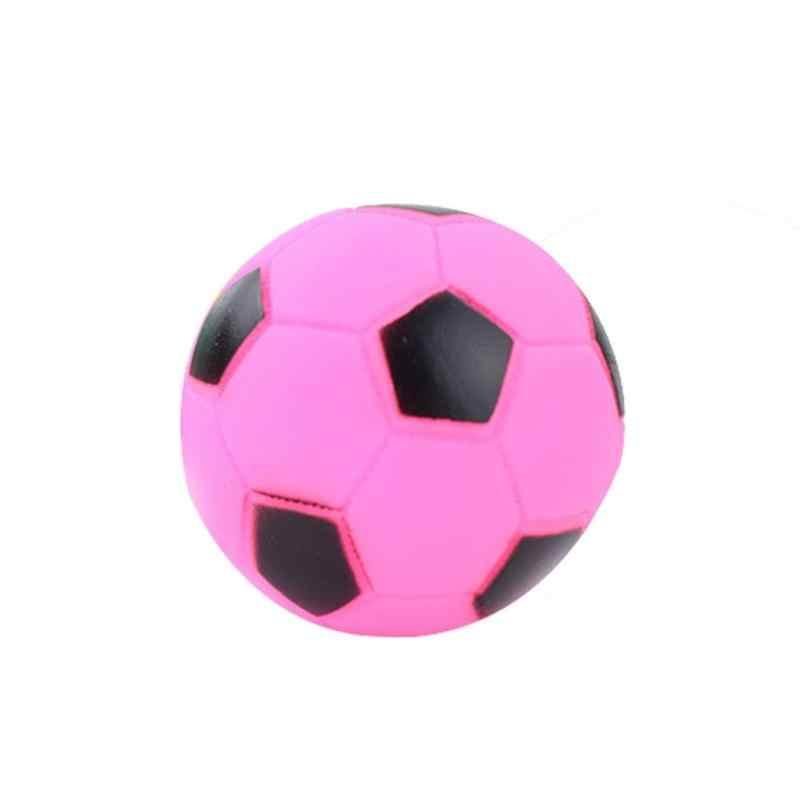 6 ซม.สัตว์เลี้ยงของเล่นลูกสุนัข Chew Squeaky ฟุตบอลรูปสัตว์เลี้ยงสุนัข Molars Bite Squeak ของเล่นเสียง Chew เล่นฟุตบอลรูปร่างของเล่นสำหรับสัตว์เลี้ยง