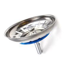 304 фильтр-пробка для кухонной раковины из нержавеющей стали, канализационная пробка, фильтр для раковины, аксессуары для ванной комнаты