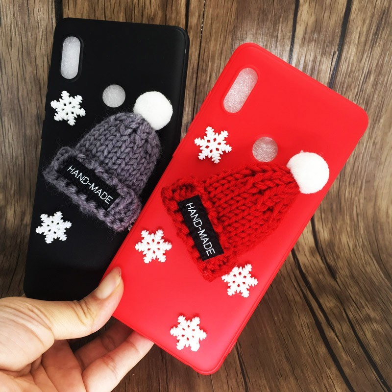 Fashion Soft Silicone Cover For Xiaomi <font><b>Redmi</b></font> <font><b>Note</b></font> 5 6 Pro 5A Plus Merry Christmas Phone <font><b>Case</b></font> On Xiomi Redmi6 A 6A 6pro <font><b>4X</b></font> <font><b>Cases</b></font> image
