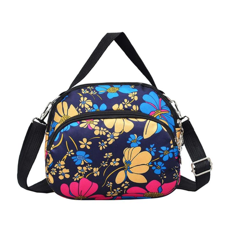 Korean Fashion Women Shoulder Bag Female Waterproof Nylon Handbag High Quality Female Messenger Bags Multilayer Crossbody BagKorean Fashion Women Shoulder Bag Female Waterproof Nylon Handbag High Quality Female Messenger Bags Multilayer Crossbody Bag