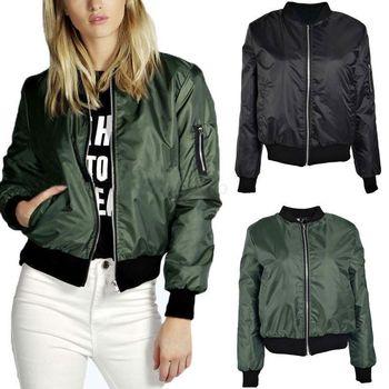 Women Jacket Coat Casual Jacket Oblique Zipper Motorcycle Jacket Coat Street Outwear Tops