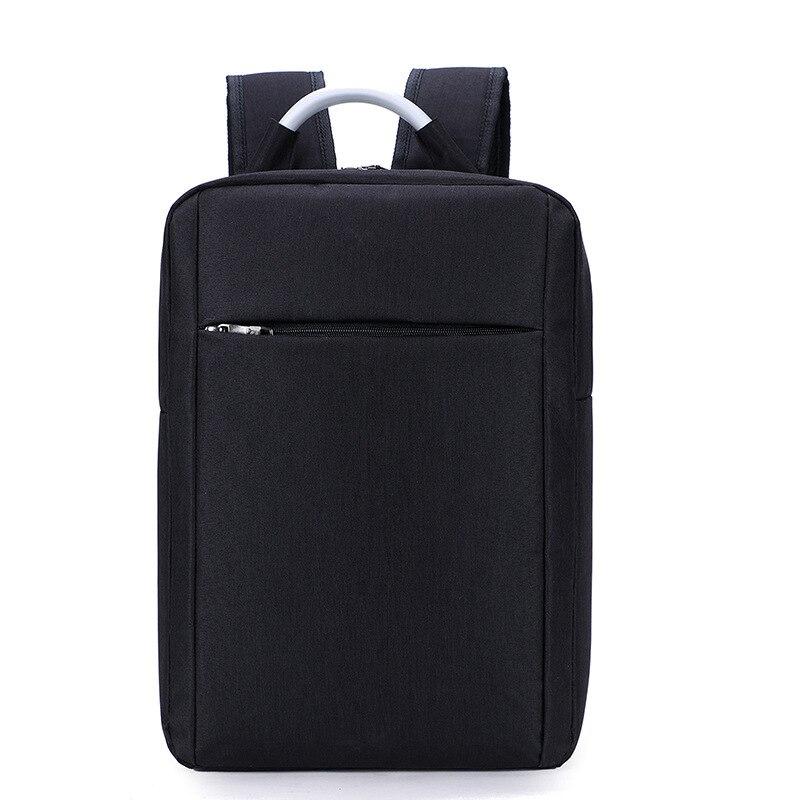 PUOU Male Backpack Bag Brand Designer Laptop Notebook Black Grey Mochila For Men Waterproof Travel Back Pack Bag School Backpack