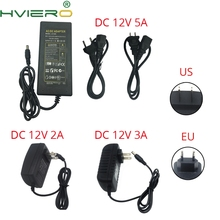 LED Power Supply Charger Transformer Adapter AC 110V 240V US Plug DC 12V 2A 3A 5A Power Charger For 3528 2835 5050 Strip Light цена