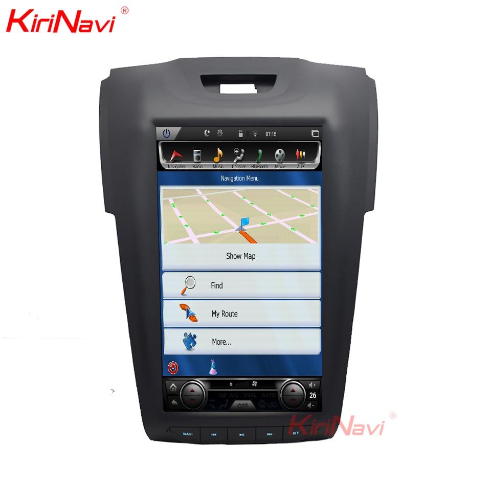 KiriNavi 11.8 Inch Android 6.0 Car Radio Multimedia GPS Navigation For Chevrolet Colorado Trailblazer Isuzu Dmax KiriNavi 11.8 Inch Android 6.0 Car Radio Multimedia GPS Navigation For Chevrolet Colorado Trailblazer Isuzu Dmax