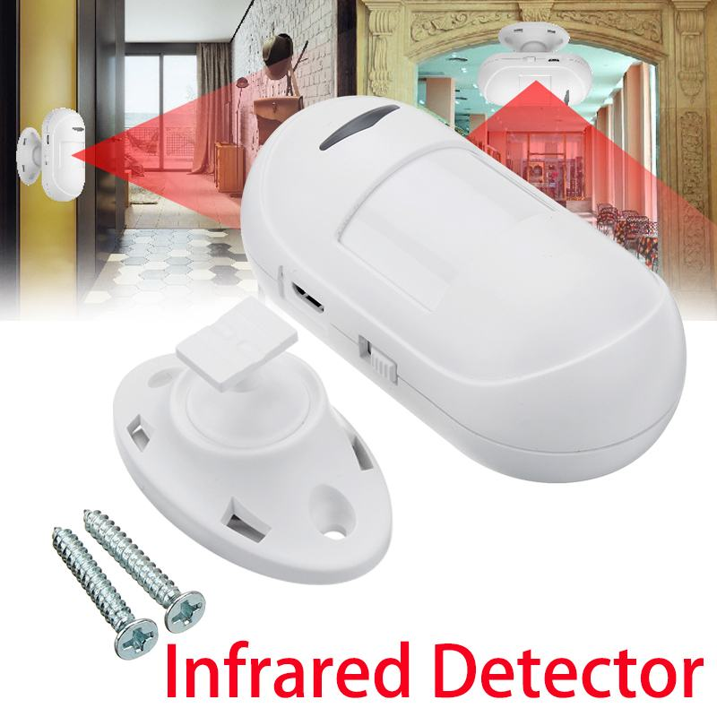 433 Mhz Mini Wireless Infrared Detector Alarm Monitor Motion Detection Indoor/outdoor Anti-theft System With 360 Degree Base Security Alarm Security & Protection
