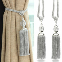 2 PC/Lots Rope Curtain Tiebacks Curtain Tassels Fringe Tie Backs Holdbacks Window Drapes Curtain Supplies