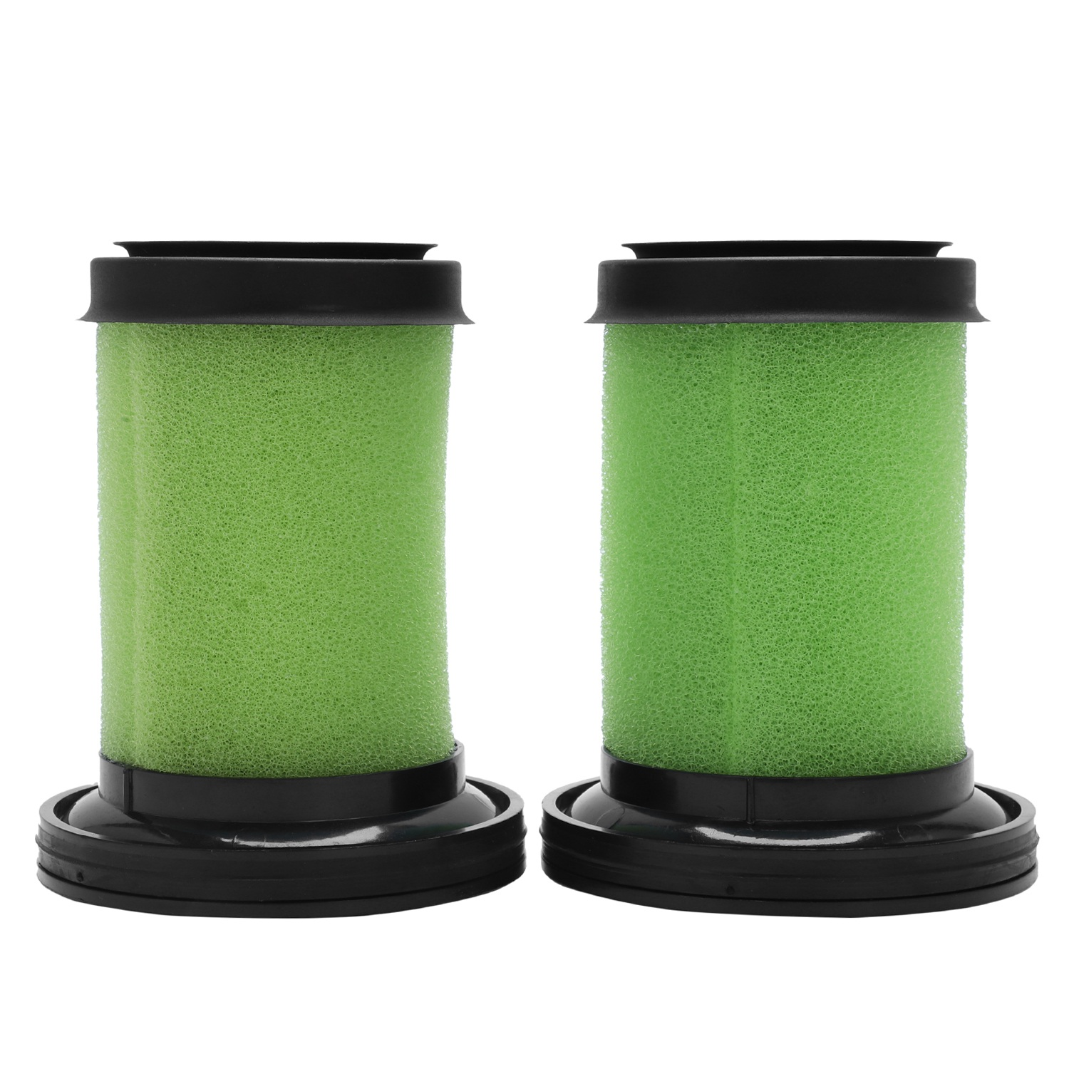 Washable Foam Filters for GTech Multi Cordless Vacuum Cleaner (Green, Pack of 2)