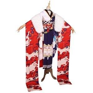 Image 4 - Mmgg Azur Lane Cosplay Prinz Eugen Cosplay Kostuum Kimono Cosplay Kleding Vrouw C Dienen