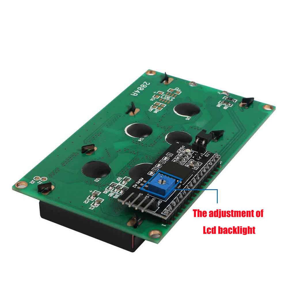 Module d'affichage à cristaux liquides de caractère 20x4 LCD2004 IIC/I2C/TWI 2004 affichage PCF8574 pour Arduino Uno r3 Mega 2560 Raspberry Pi Avr Stm32