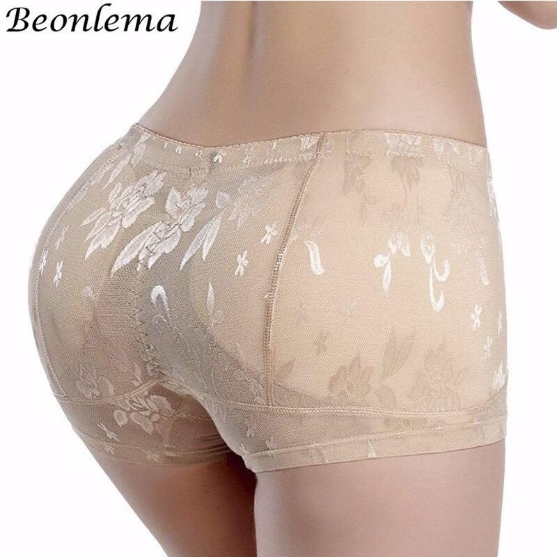 Beonlema Sexy Butt Enhancer Pads Hip Lifting Panties Butt Lift Shapewear Women Body Shaper Fake Ass Underwear Plus Size M-4XL
