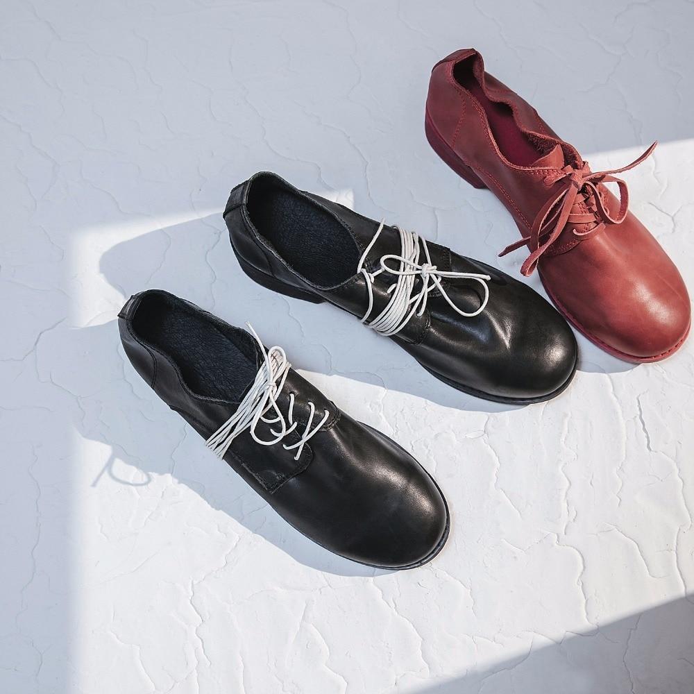 3 Faible Femmes Talon red Véritable white Chunky Boîte Black Chaussures Dentelle De Talons D'emballage Mocassins Cuir Solides Printemps D3130 Rouge En Pompes Cm up Casual 4wrzaZ4q