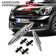 For MINI Cooper R50 R52 R57 R58 F55 F56 JCW Accessories Car Front Grille Sticker Decals Countryman R60