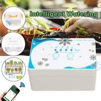 Садовая Автоматическая капельная система орошения wifi управление мобильным телефоном поливочное устройство горшок для суккулентов водяно