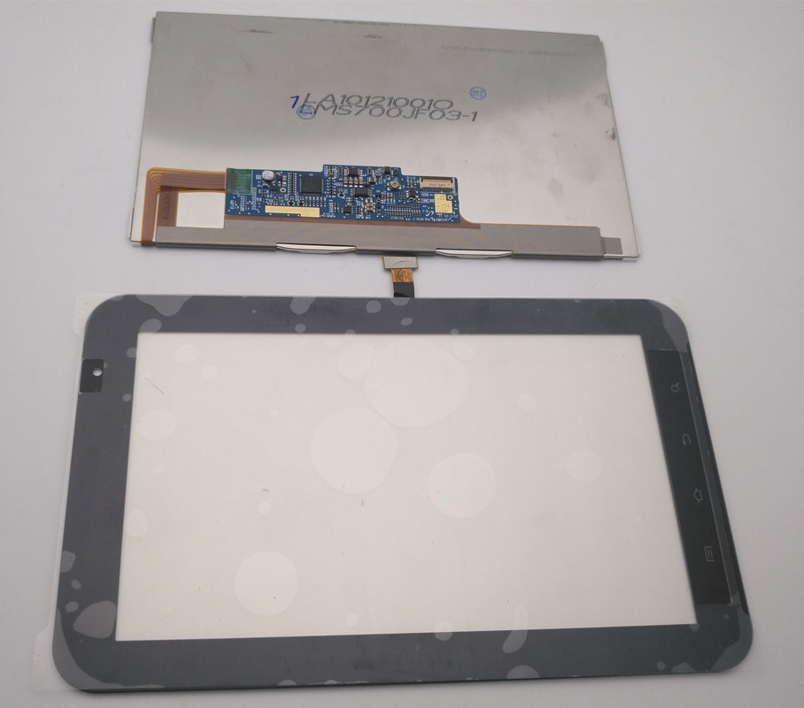 For Samsung <font><b>Galaxy</b></font> <font><b>Tab</b></font> <font><b>GT</b></font>- <font><b>P1000</b></font> LCD Display Screen Monitor Module+Touch Screen Digitizer Assembly For Samsung <font><b>Galaxy</b></font> <font><b>Tab</b></font> <font><b>P1000</b></font> image